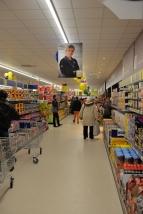 Impression et présentation des portraits d'entreprise réalisés pour le magasin Lidl se St Pïerre d'Oléron.